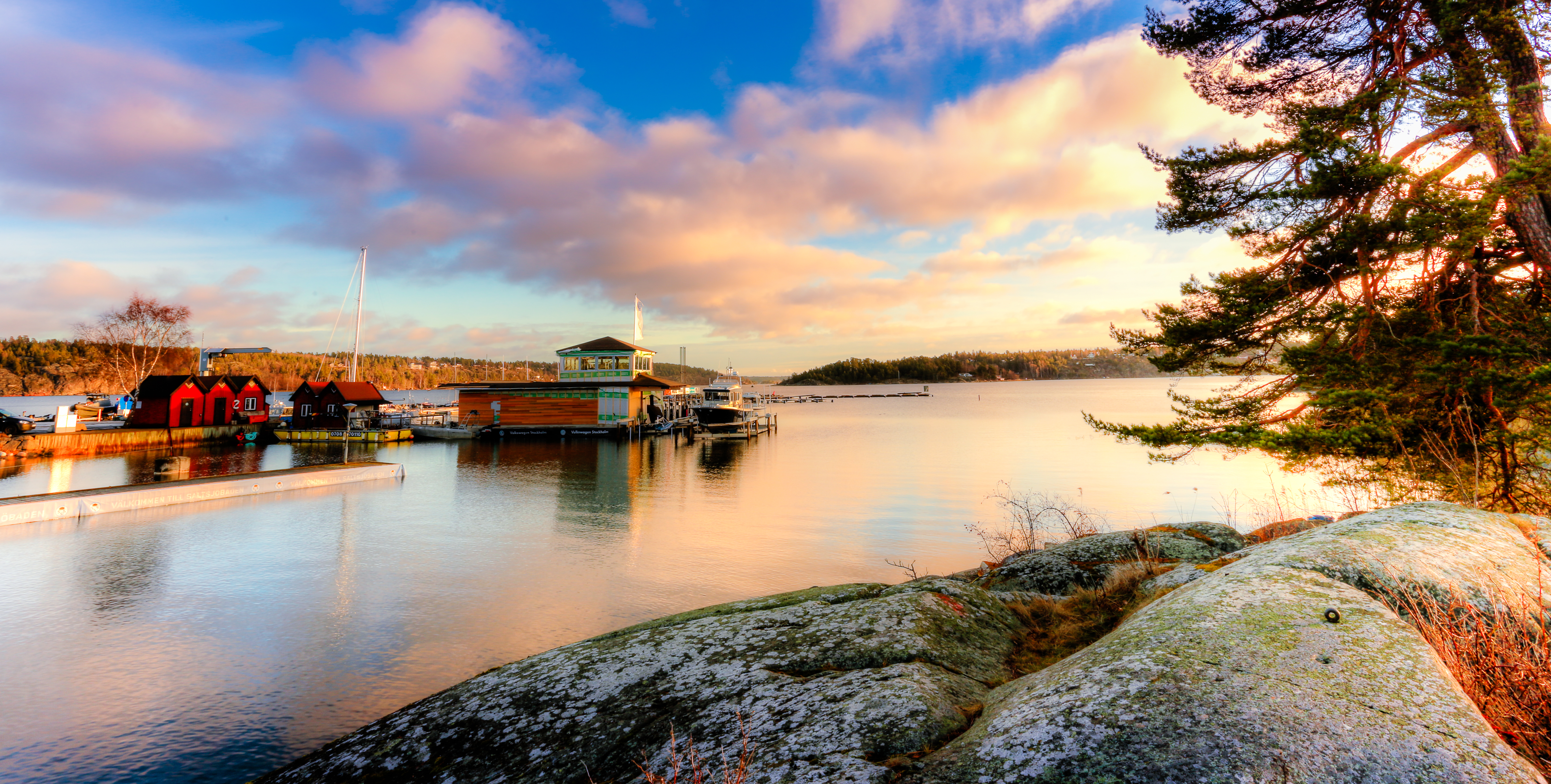 Saltjöbaden Saltsäcken lake